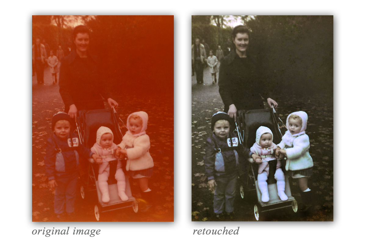 photograph restoration Dublin Ireland