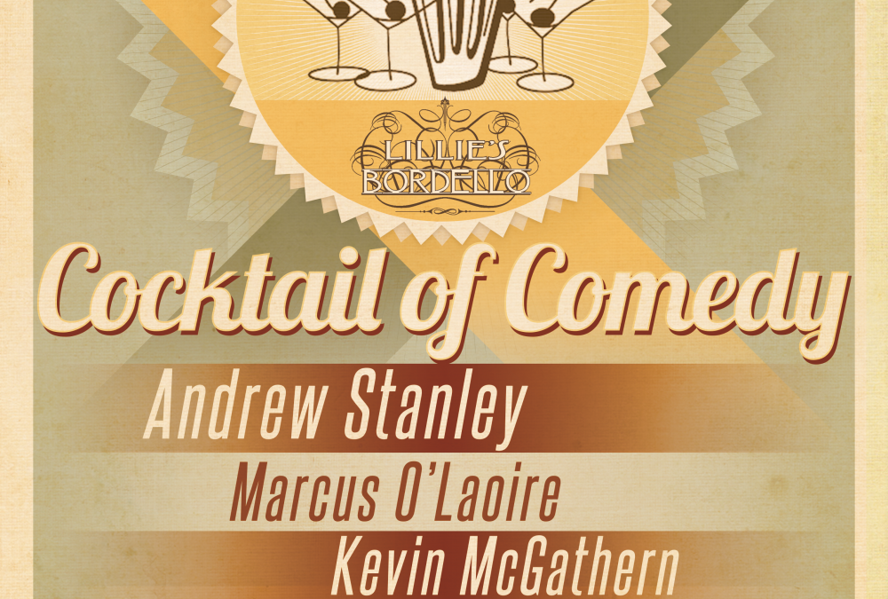 Cocktail of Comedy poster design