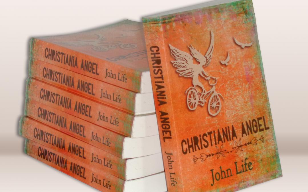 Christiania Angel book cover design