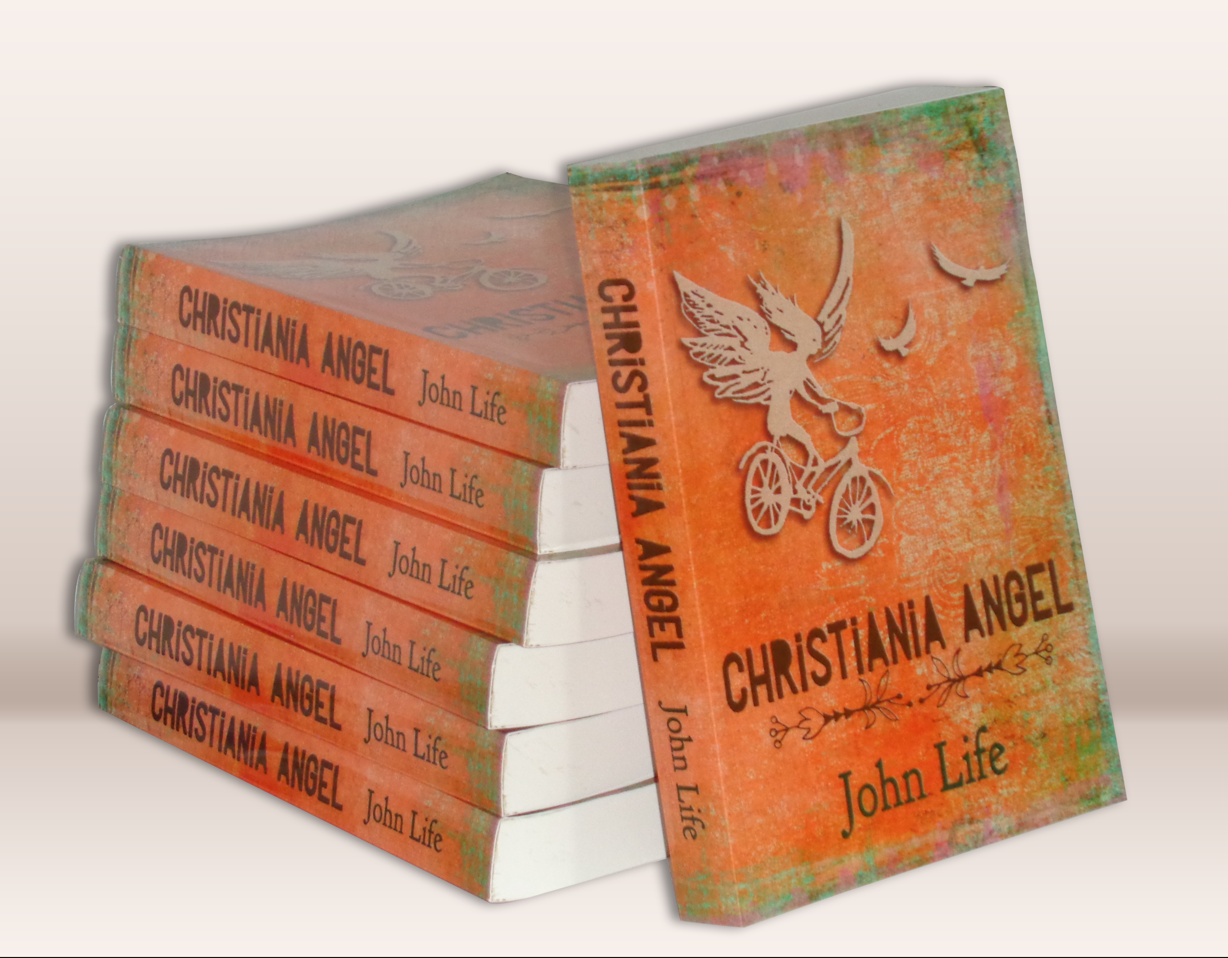 Christiania Angel book jacket design by Tiger-Fruit