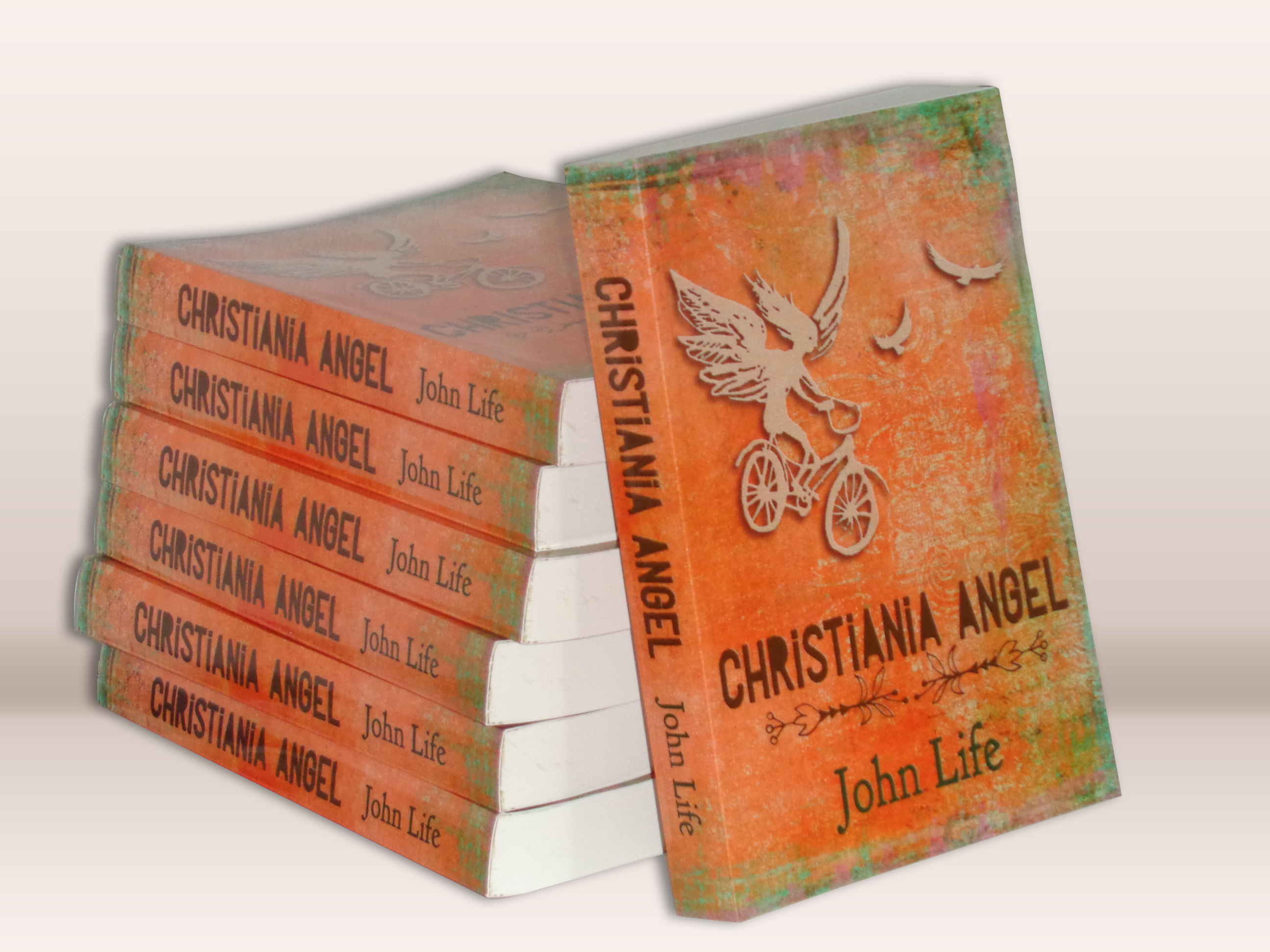 Christiania Angel book cover design