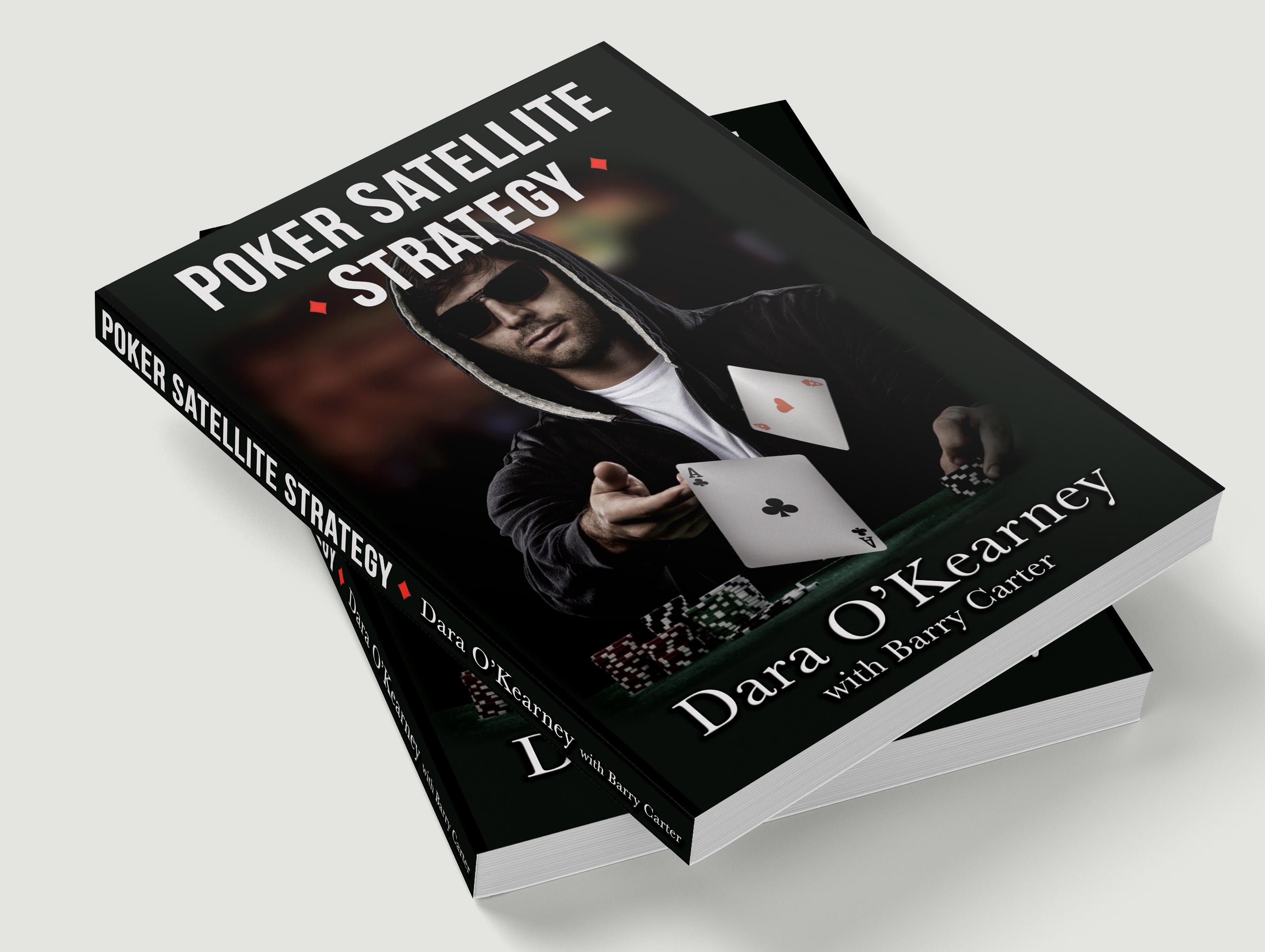 Poker Satellite Strategy book cover design