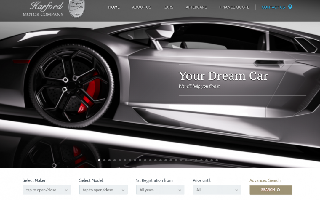 Harford Motor Company website