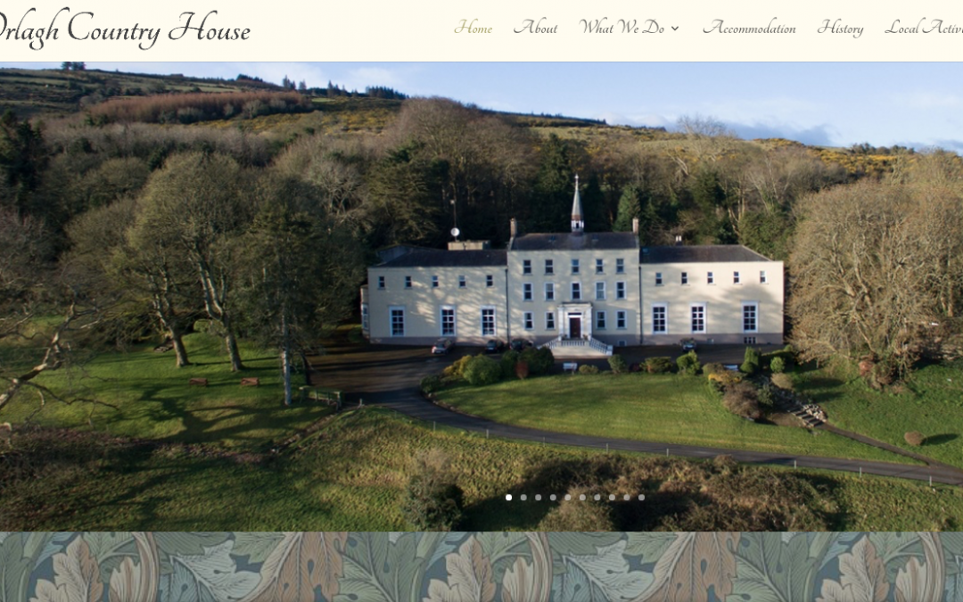 Orlagh Country House website