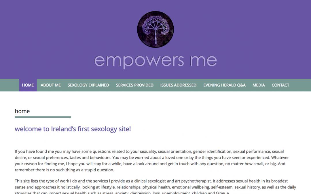 Empowers Me website