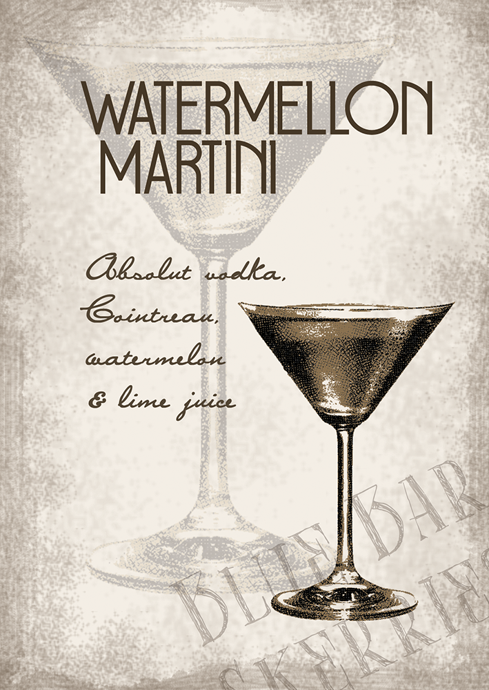 Watermellon Martini