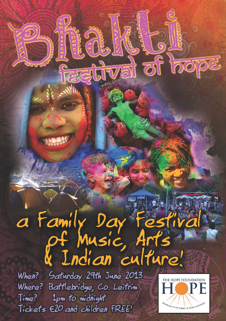 Bhakti Festival of Hope poster