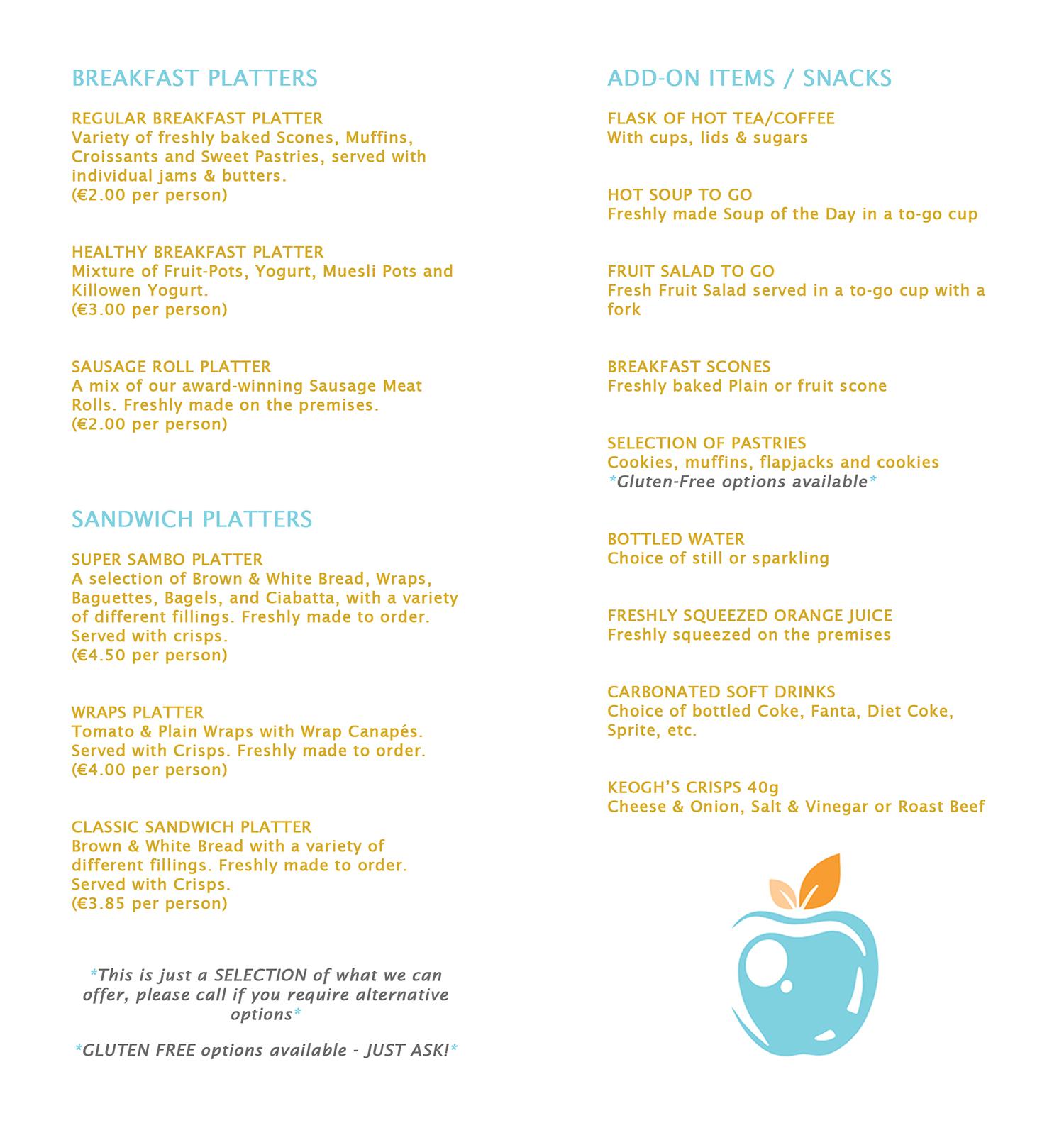 menu page 2&3