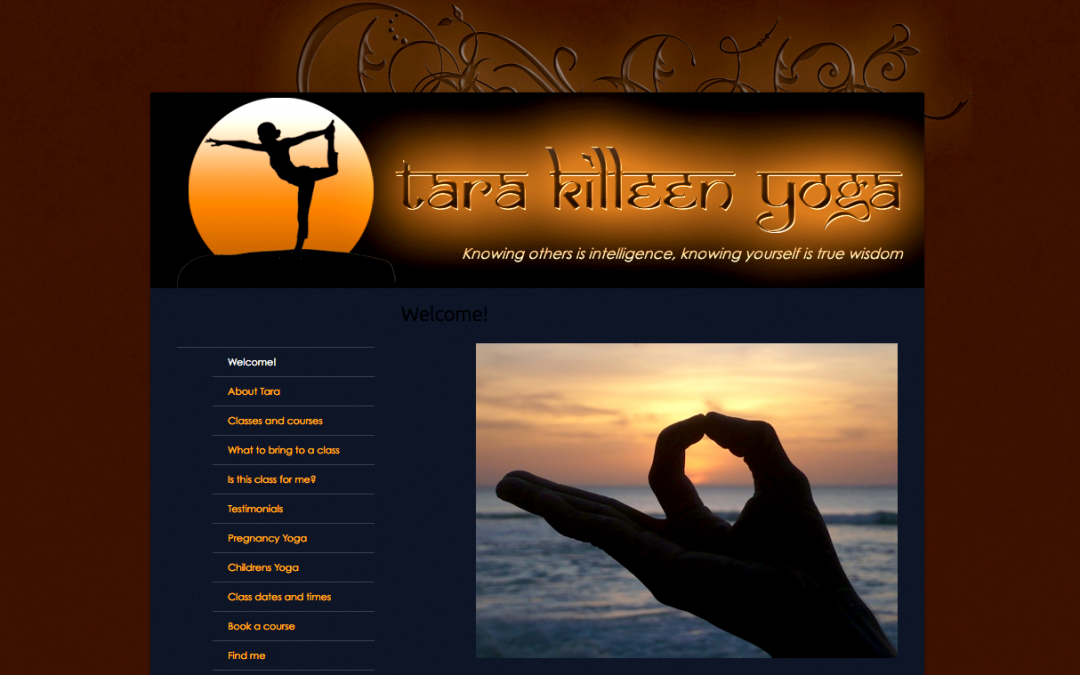 Tara Killeen Yoga website